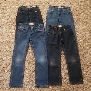 4 pairs Levi 511 slim size 8 reg